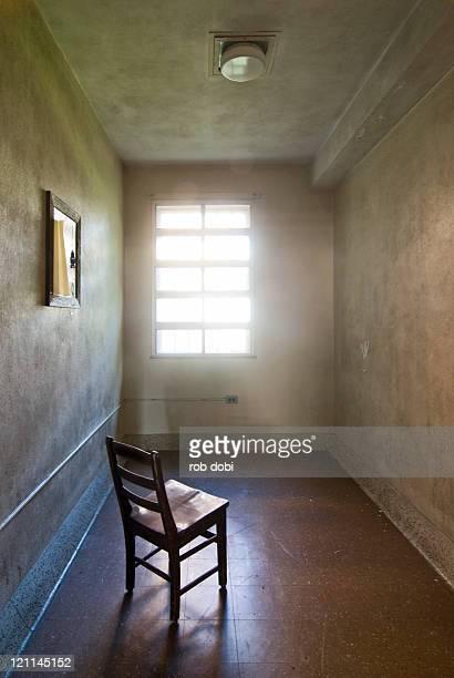 Lone chair in an Asylum
