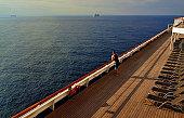 A Lone Morning at Sea