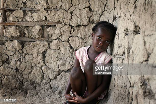 Lonely African Girl