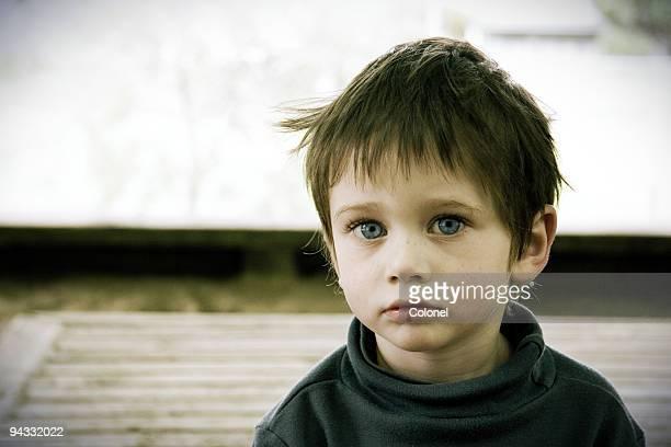 Einsam Kind