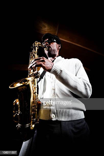 Lonely Saxophonist