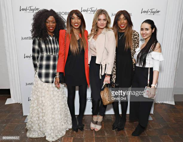 LonelyAmanda Chantelle DwomohPiper Anna Galchenyuk Danielle DwomohPiper and Amal Amamou attend as Lord Taylor and Bobbi Brown celebrate the launch of...