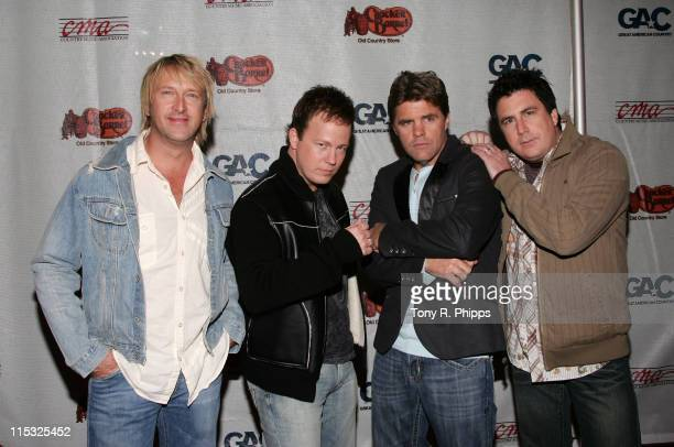 Lonestar during 2006 Songs of the Year Concert Presented by Cracker Barrel at Schermerhorn Symphony Center in Nashville Tennessee United States