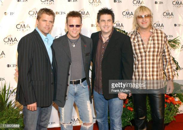 Lonestar during 38th Annual Country Music Awards Arrivals at Grand Ole Opry House in Nashville Tennessee United States
