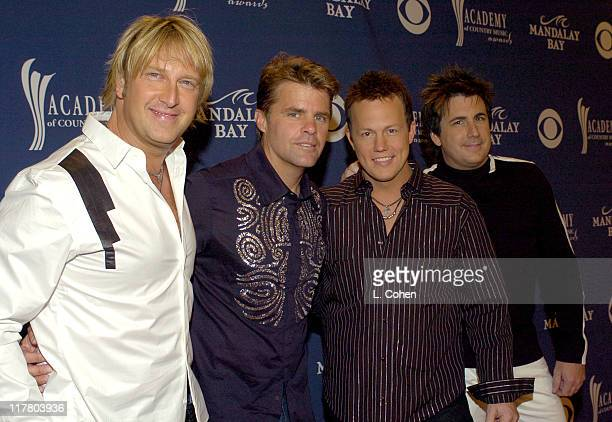 Lonestar during 39th Annual Academy of Country Music Awards Orange Carpet at Mandalay Bay Resort and Casino in Las Vegas Nevada United States