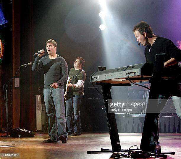 Lonestar during Sprint Sound and Speed VIP Gala Dinner Auction and Performance at The Wildhorse in Nashville Tennessee United States