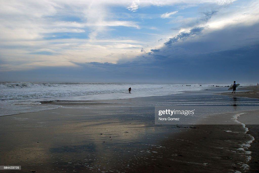 Long Beach, Bill Waves : Stock Photo
