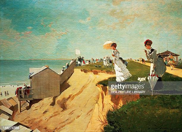 Long Branch New Jersey by Winslow Homer oil on canvas 41x55 cm Boston Museum Of Fine Arts