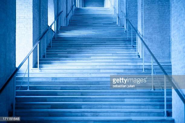 Lange business stone Schritte vom Eingang der lobby