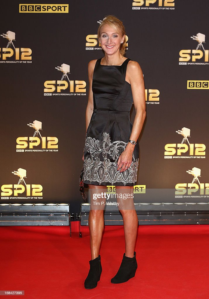 Long distance runner Paula Radcliffe attends the BBC Sports Personality of the Year Awards at ExCeL on December 16, 2012 in London, England.
