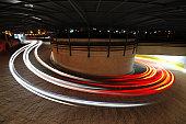 Long exposure of Car's Light  - XLarge