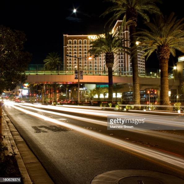 CONTENT] Long exposure of light trails from the traffic on Las Vegas Blvd facing the Treasure Island Hotel and Casino 2009