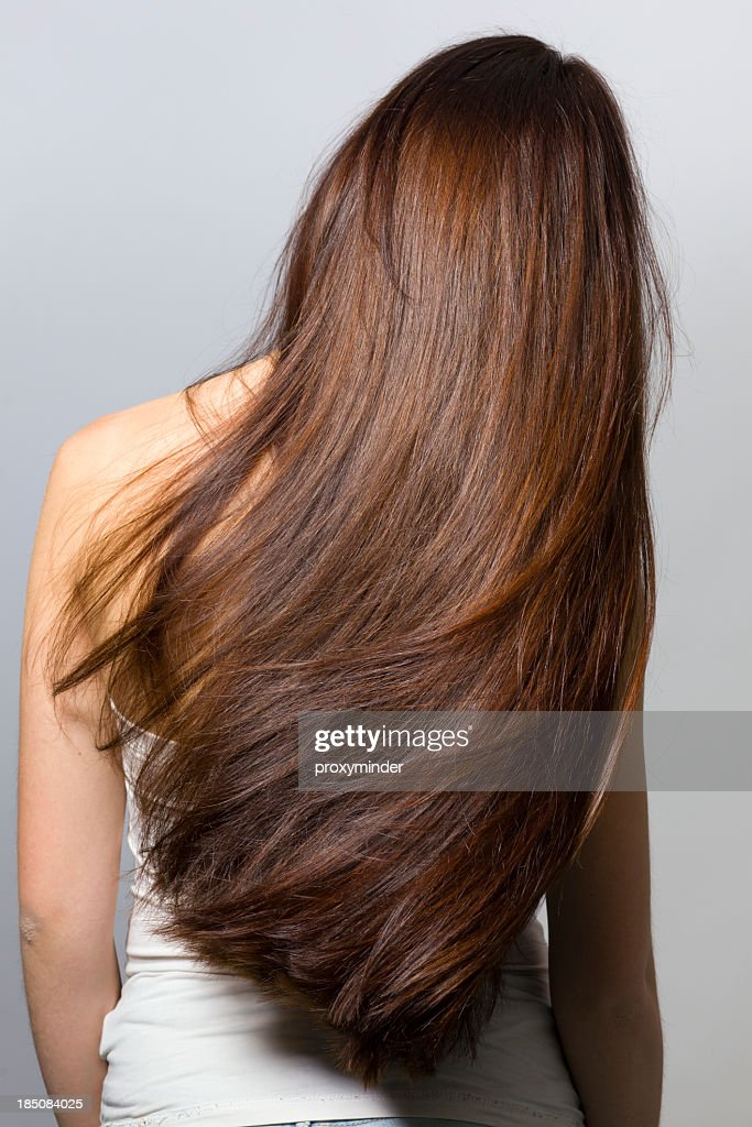 Long hair from behind
