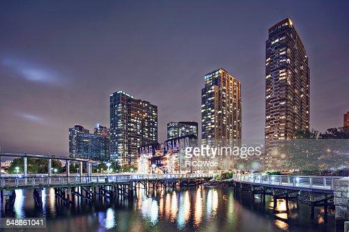 Long Island City at Night