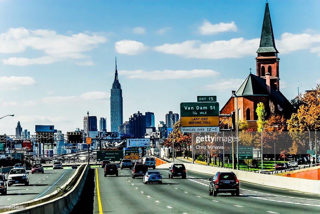 Long Island Expressway at Van Dam St., Queens, NY