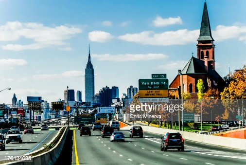 Long Island Expressway at Van Dam St., Queens, NY