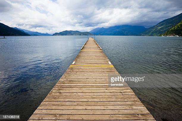 Long Jetty at Mountain Lake