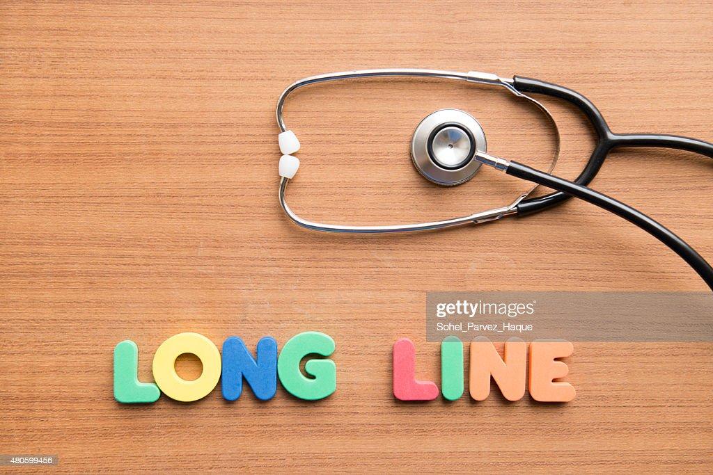 Long line : Stock Photo