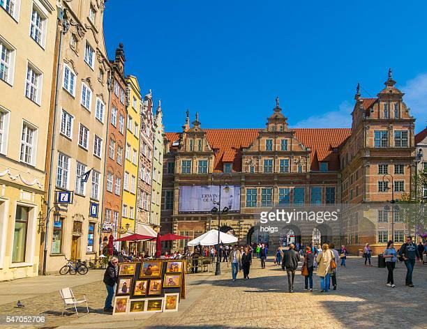 Long Market in Gdansk, Poland