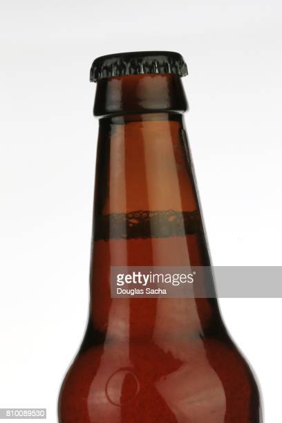 Long neck beer bottle