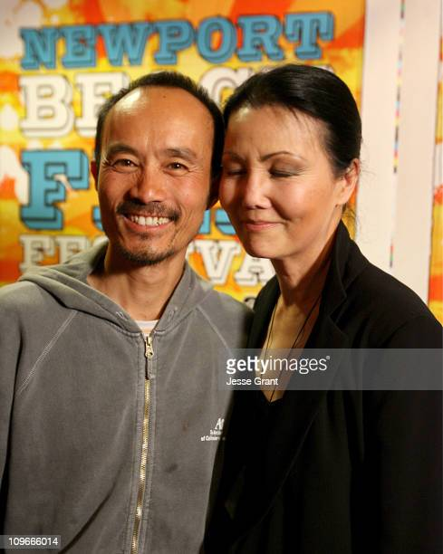Long Nguyen and Kieu Chinh during 2006 Newport Beach Film Festival 'Journey from the Fall' Screening at Edward's Island Cinemas in Newport Beach...