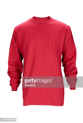 Long sleeved t-shirt w/clipping path