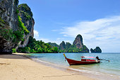 Tonsai is located between Ao Nang and Railay.