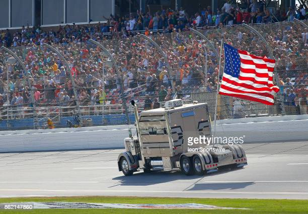 A long time Talladega tradition prior to the running of the Alabama 500 Monster Energy Cup Series race on October 15 2017 at the Talladega...
