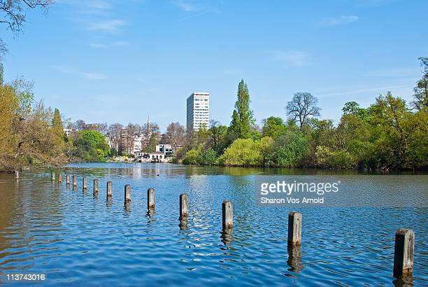Long Water, Kensington Gardens, London