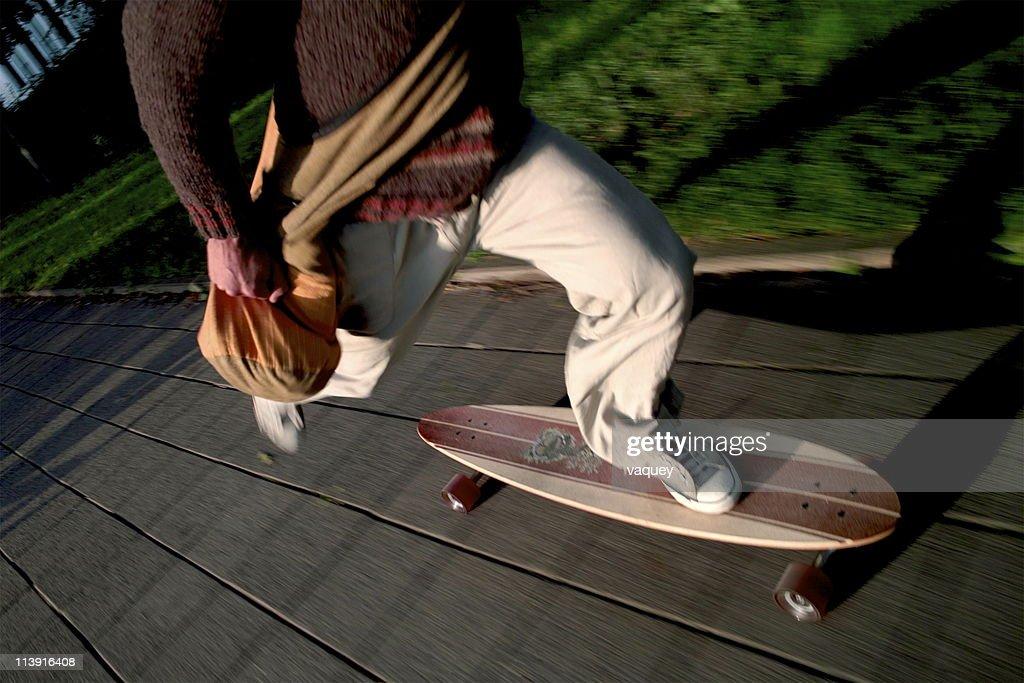 Longboard Ride : Stock Photo