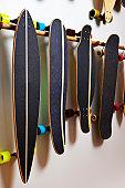 Longboard skate shop