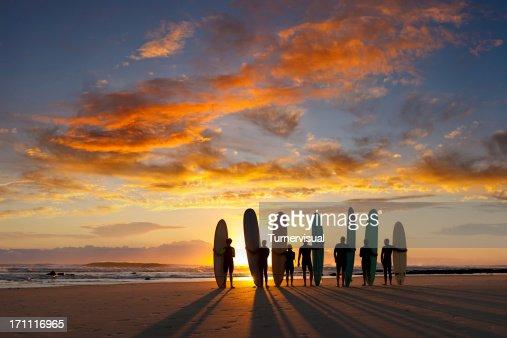 Longboard Sunrise