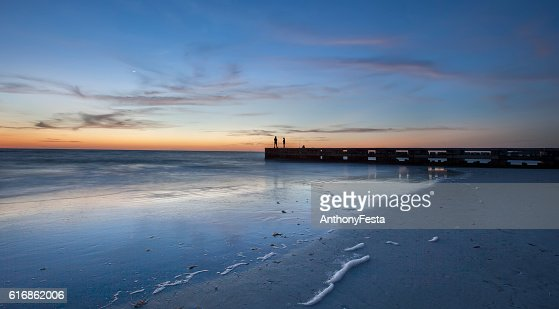 Longboat Key Afterglow : Stock Photo