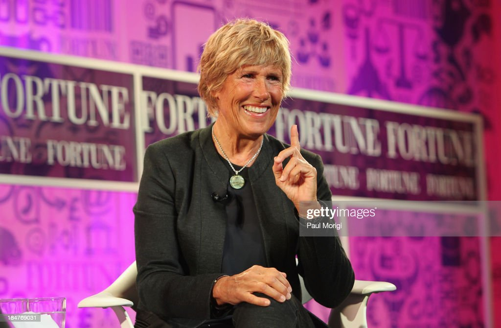 Longdistance swimmer Diana Nyad speaks onstage at the FORTUNE Most Powerful Women Summit on October 16 2013 in Washington DC