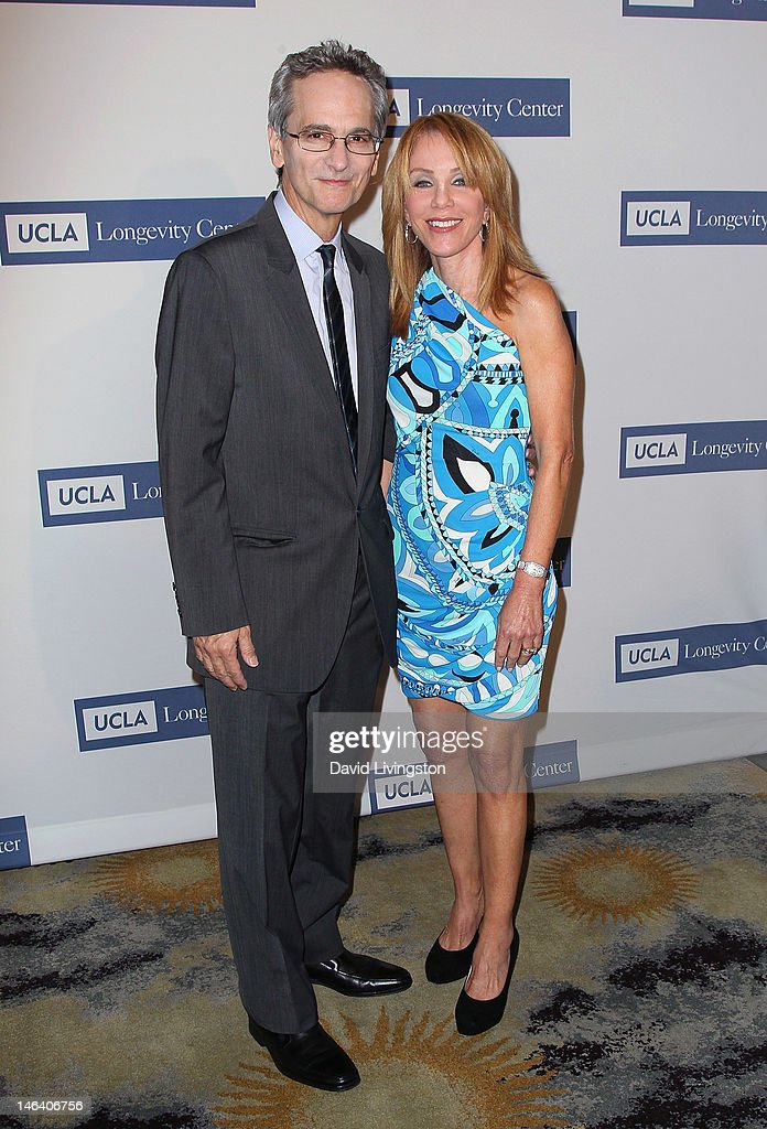 Longevity Center director Dr. Gary Small (L) and wife Gigi Vorgan attend the UCLA Longevity Center's 2012 ICON Awards at the Beverly Hills Hotel on June 6, 2012 in Beverly Hills, California.