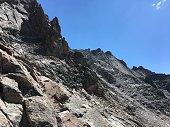 Rocky Mountain National Park summit of longs peak alpine wilderness geology Colorado explore adventure