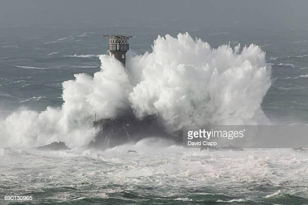 Longships Lighthouse, Lands End, Cornwall