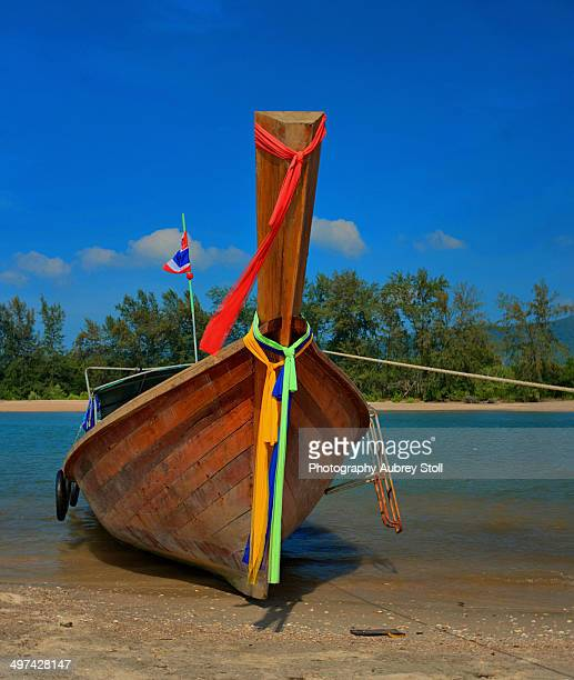 Longtail Boat in Krabbi
