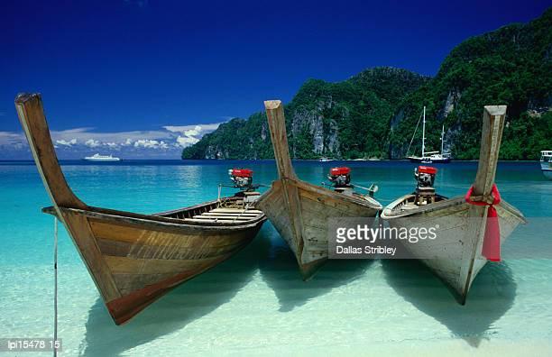 Longtail boats at Ao Lo Dalam,Ko Phi-Phi Don,Krabi,Thailand,Southeast Asia