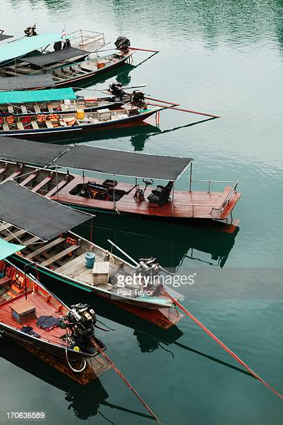 Longtail Boats, Khao Sok National Park