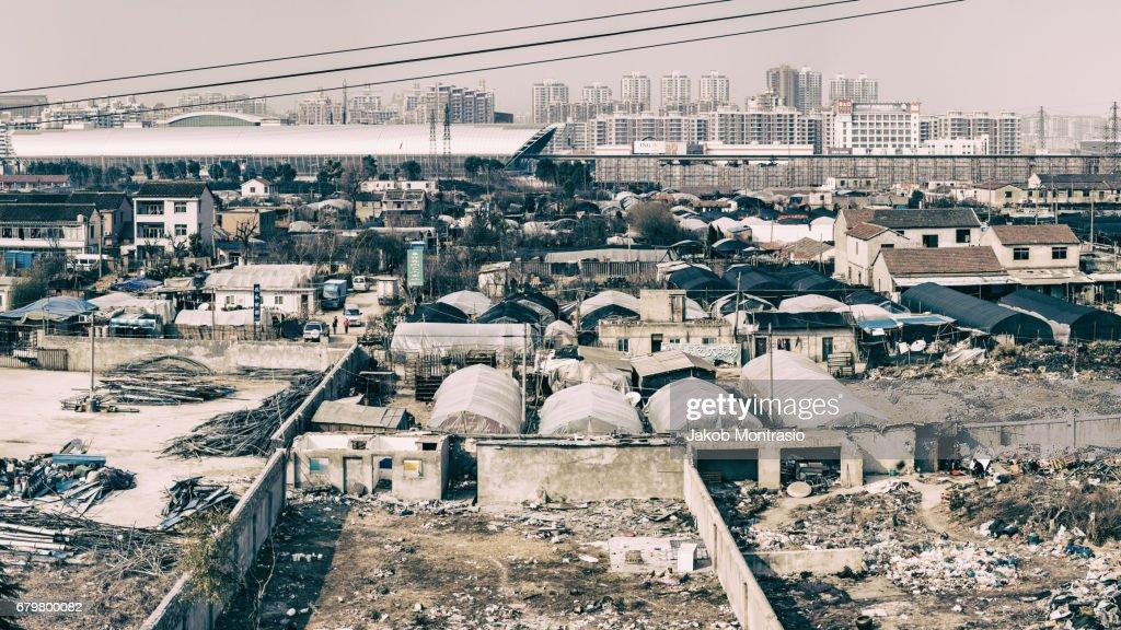 Longyang road Maglev Station Shanghai : Stock Photo