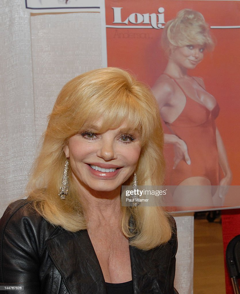 Loni Anderson attends day 1 of Motor City Comic Con 2012 at the Suburban Collection Showplace on May 18, 2012 in Novi, Michigan.
