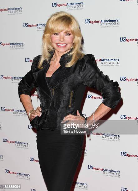 Loni Anderson attends the theatrical celebrity reading of 'Surviving Grace' to benefit alzheimer's at Stephen J Ross Theatre on The Warner Bros Lot...