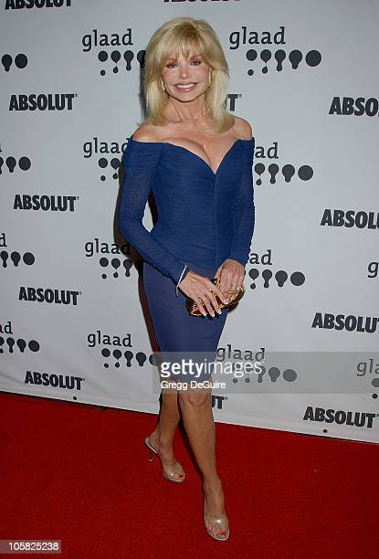 Loni Anderson during 18th Annual GLAAD Media Awards Los Angeles Arrivals at Kodak Theatre in Hollywood California United States