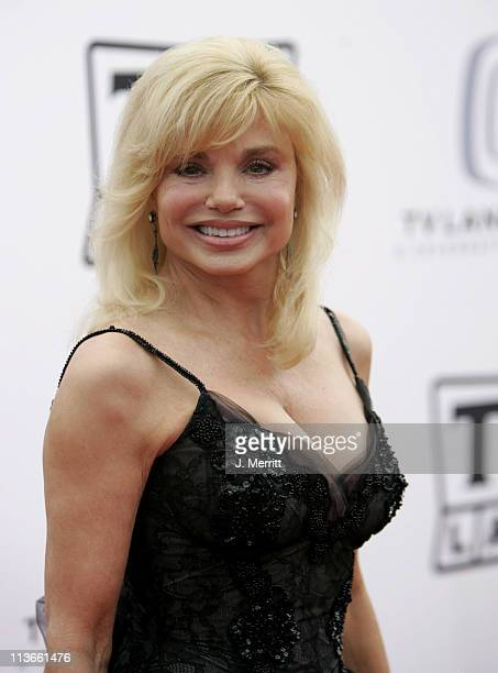 Loni Anderson during 2005 TV Land Awards Arrivals at Barker Hangar in Santa Monica California United States