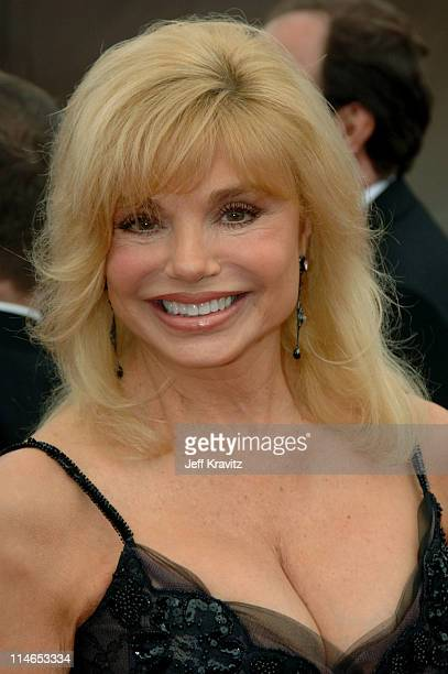 Loni Anderson during 2005 TV Land Awards Red Carpet at Barker Hangar in Santa Monica California United States
