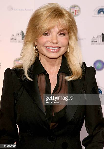 Loni Anderson during Griffith Observatory ReOpening Galactic Gala at Griffith Observatory in Los Angeles CA United States