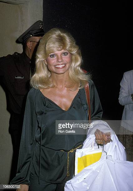 Loni Anderson during Loni Anderson Departs 'The Merv Griffin Show' April 4 1979 at Metromedia Square in Los Angeles California United States