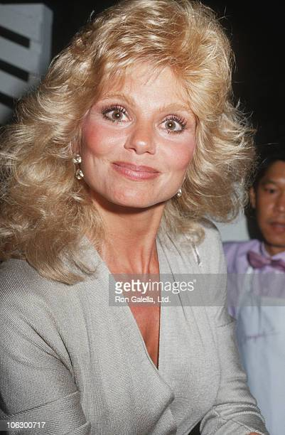 Loni Anderson during Loni Anderson Sighting at Spago Restaurant in Hollywood June 15 1987 at Spago Restaurant in Hollywood California United States