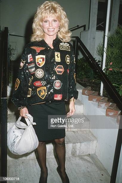 Loni Anderson during Loni Anderson Sighting at Spago Restaurant in Hollywood November 16 1986 at Spago Restaurant in Hollywood California United...